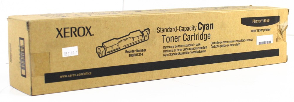 50000619-Xerox Phaser 6360 106R01073 Cyan Toner Cartridge -image