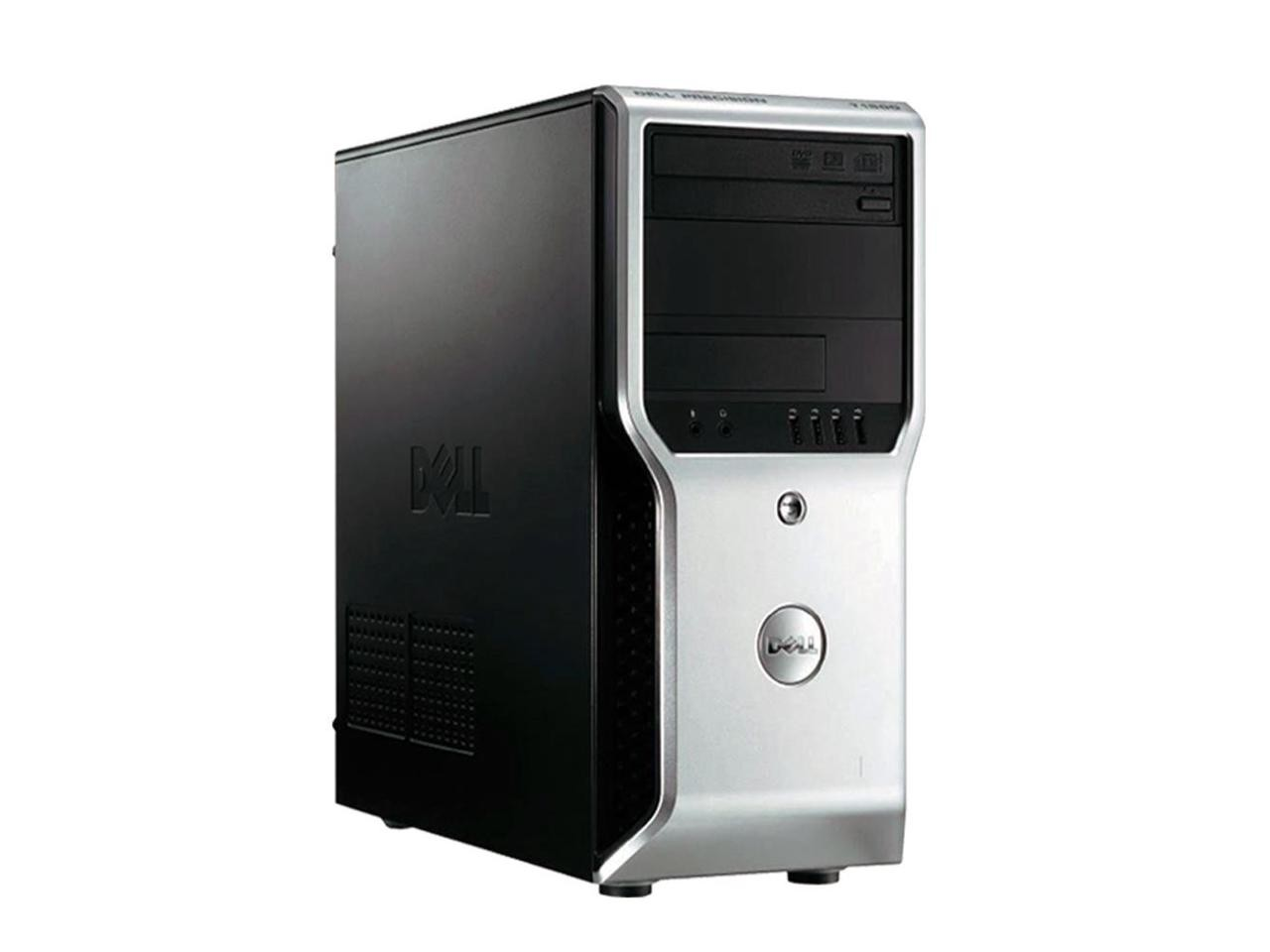 DEL-PRE-T1500-i7-Dell Precision T1500 Refurbished Workstation Core i7 500 GB HDD 4 GB RAM Windows 10 Pro-image