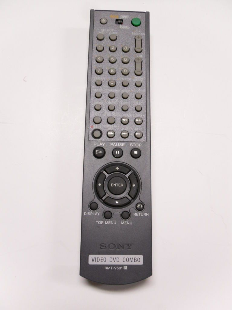 DVD-024--Used Authentic Sony RMT-V501 Refurbished Remote Control OEM Tested Working-image