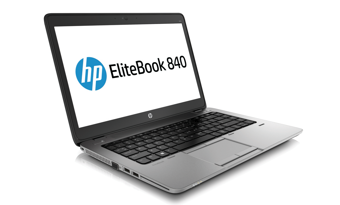 HP-ELI-840-G1-i5-2-HP EliteBook 840 G1 Refurbished Ultrabook 128 SSD 8 GB RAM Core i5 14-inch Win 10 Pro-image