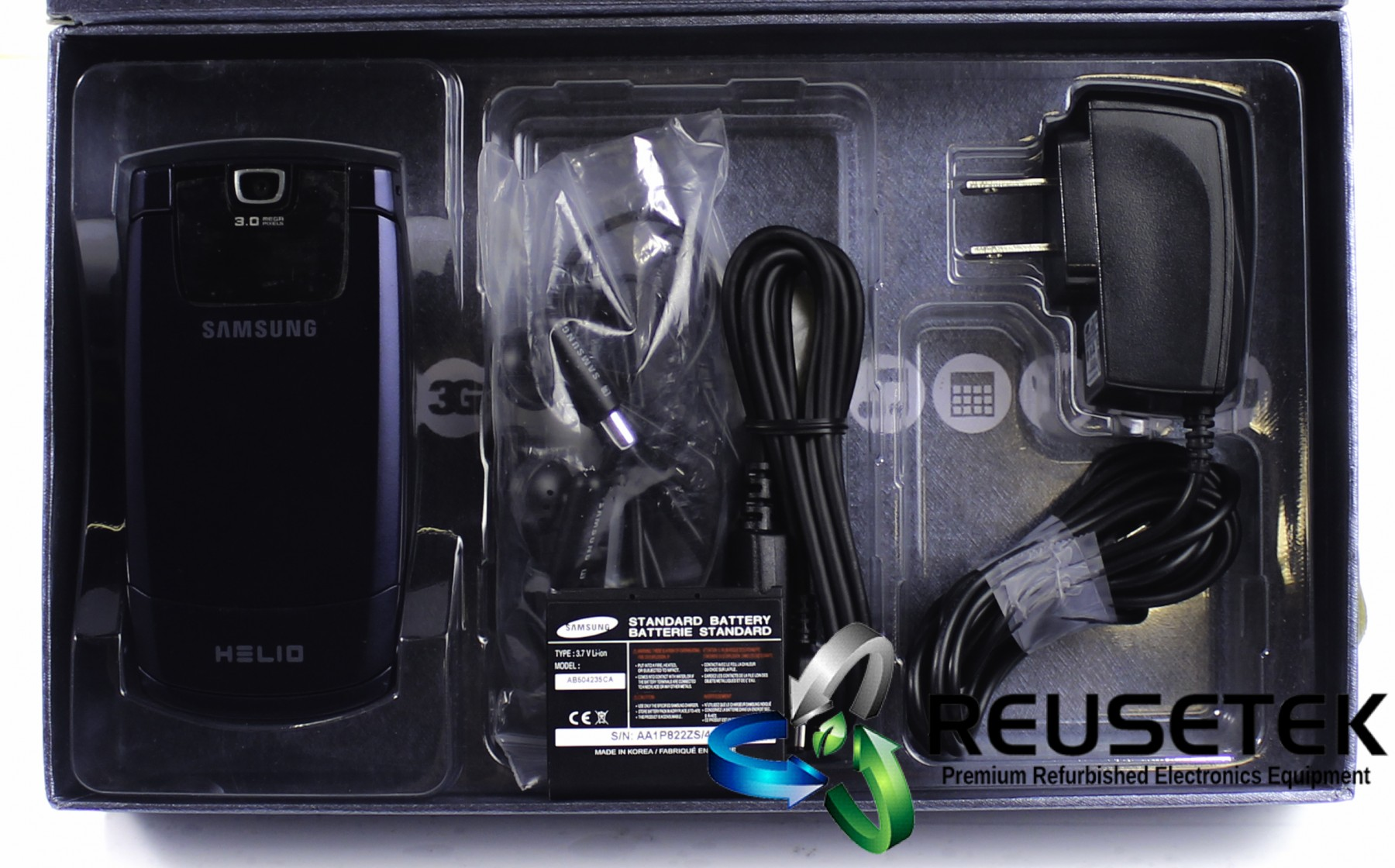 5000317696079909-Samsung SPH-A513 Helio Fin Set GH69-05316A Virgin Mobile Cell Phone-image