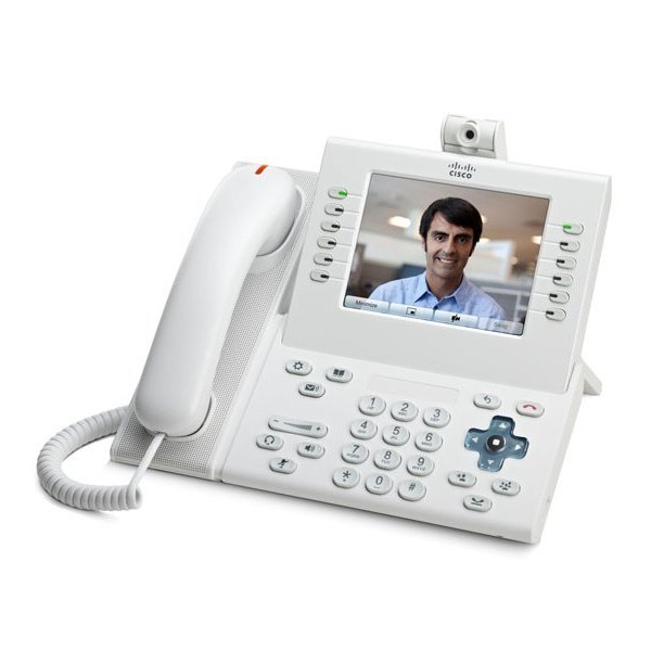 CP-9971-C-Cisco CP-9971-C Refurbished Corded VoIP Phone Camera Phone Touch-screen LCD Display-image