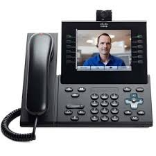 CP-9971-W-Cisco CP-9971-W Refurbished Corded VoIP Phone Camera Phone Touch-Screen LCD Display-image