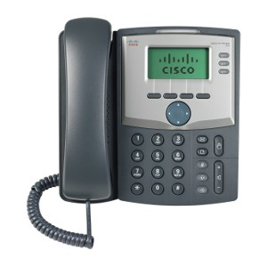 SPA303G-Cisco SPA303G Refurbished Corded VoIP Phone 3-Line Phone LCD Display -image