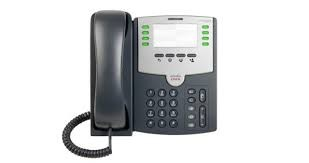SPA501G -Cisco SPA501G Refurbished Corded VoIP Phone 8-Line Business Phone -image