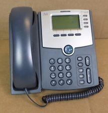 SPA504G-Cisco SPA504G Refurbished Corded VoIP Phone 4-Line Phone LCD Display -image
