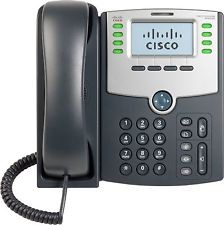SPA508G -Cisco SPA508G Refurbished Corded VoIP Phone 8-Line Phone LCD Display -image
