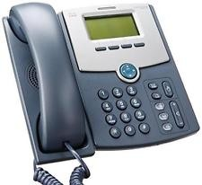 SPA512G-Cisco SPA512G Refurbished Corded VoIP Phone 1-Line Phone LCD Display -image