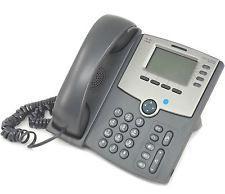 SPA514G -Cisco SPA514G Refurbished Corded VoIP Phone 4-Line Phone LCD Display -image