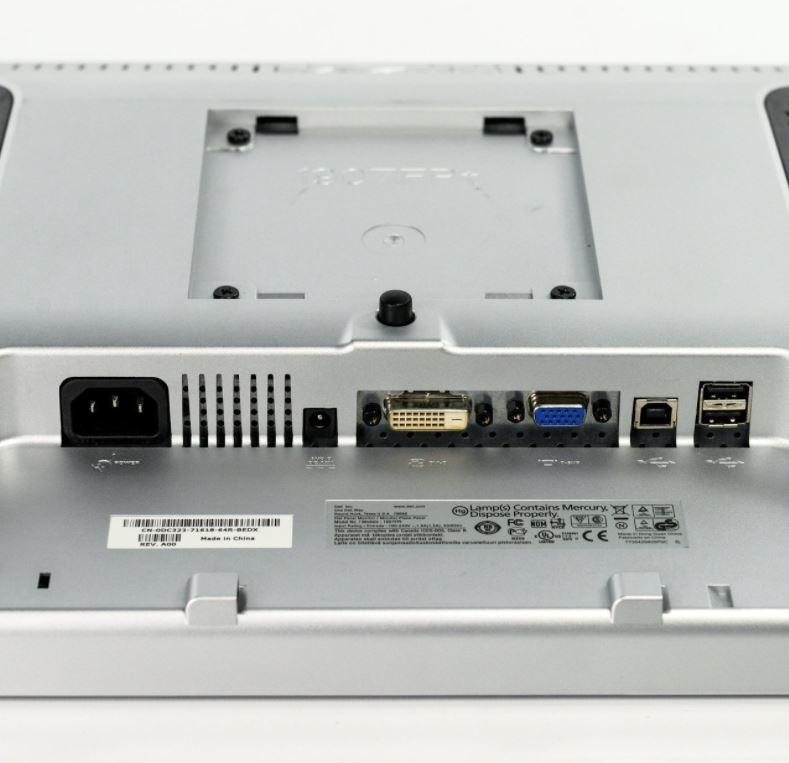 19WKDELL-Dell Flat Panel Display 19-inch 1280x1024 DVI VGA LCD Computer Monitor -image