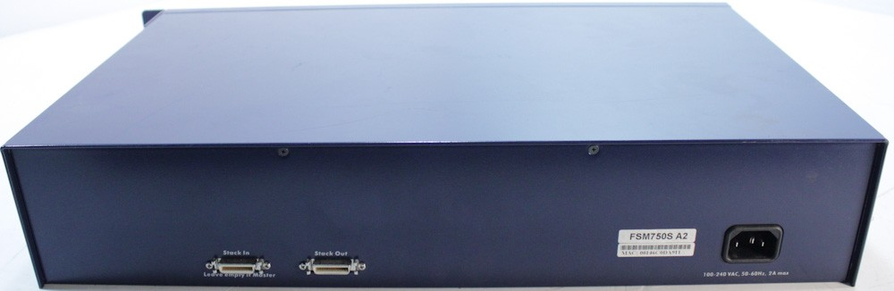 10000625-Netgear FSM750S 48 Port 10/100 Managed Network Switch-image