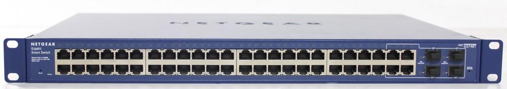 50000695-Netgear GS748T 48 Port Gigabit Switch -image