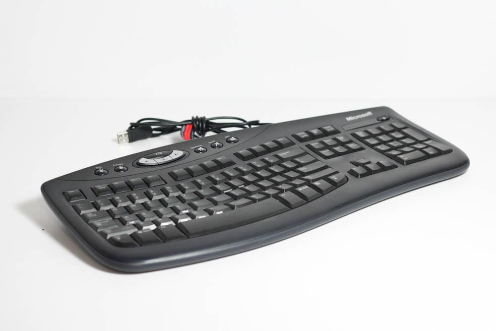 1000405-Microsoft KU-0459 Black Keyboard -image