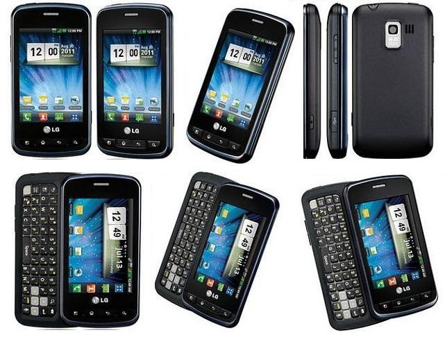50003176590-Verizon LG Enlighten LG-VS700 Slide Android Cell Phone Black-image