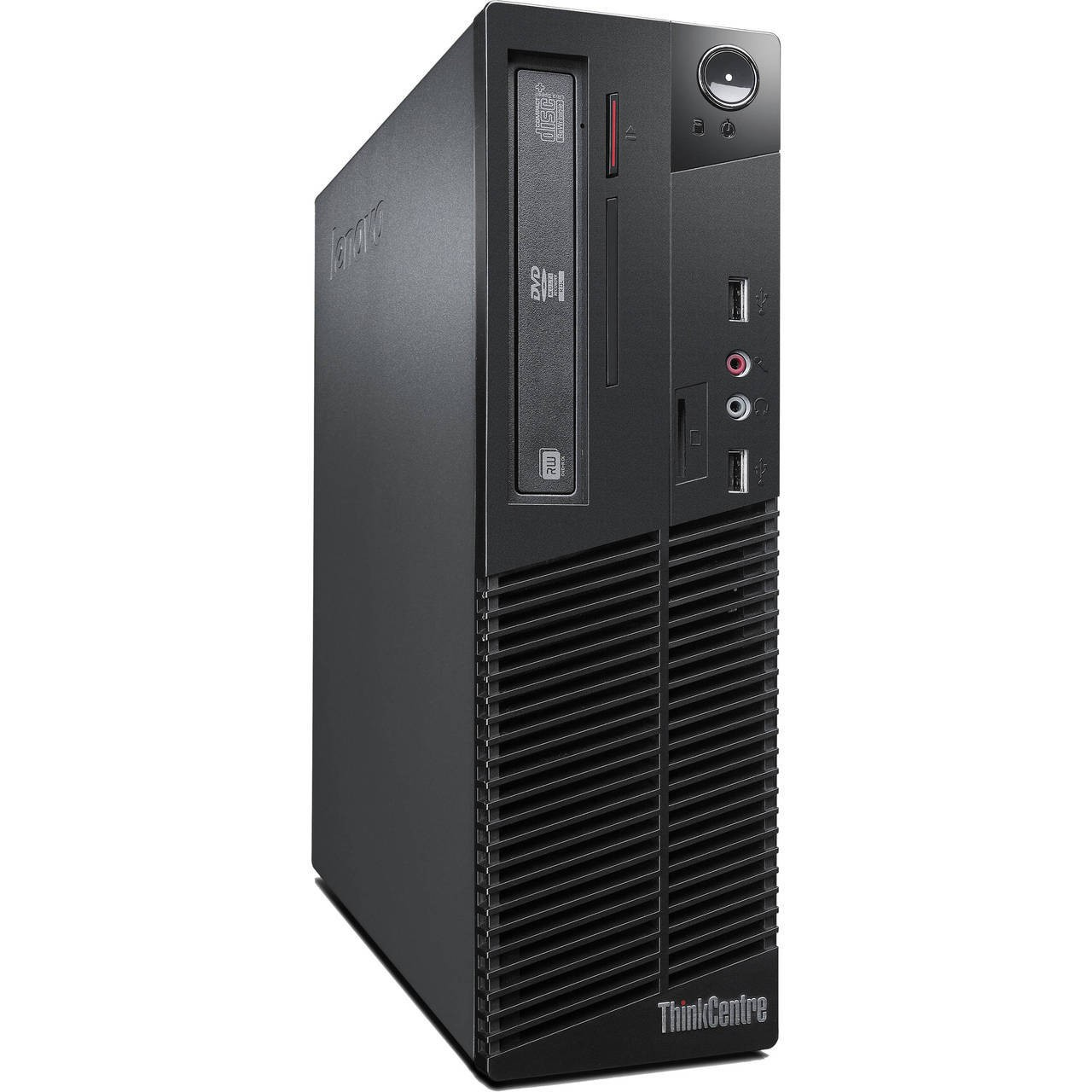LEN-TC-M72e-SFF-i5-Refurbished Lenovo ThinkCentre M72e Desktop 500 GB HDD 8 GB RAM Intel Core i5 Small Form Factor Win 10 Pro-image