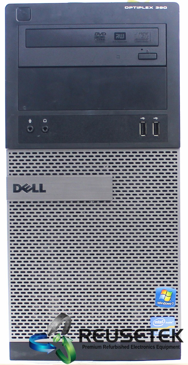 DELL-OPT-390-MT-i3-Dell OptiPlex 390 MT Intel Core i3 4 GB RAM 160 GB HDD Windows 10 Pro-image
