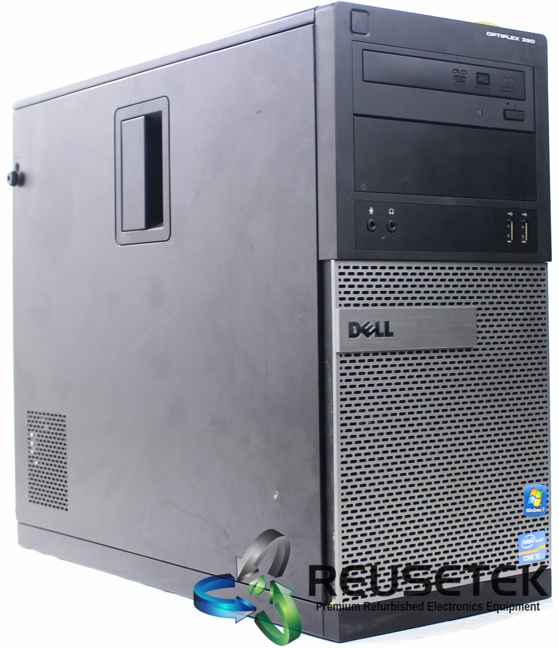 DELL-OPT-390-MT-i3-250GB-Dell OptiPlex 390 MT Intel Core i3 4 GB RAM 250 GB HDD Windows 10 Pro-image