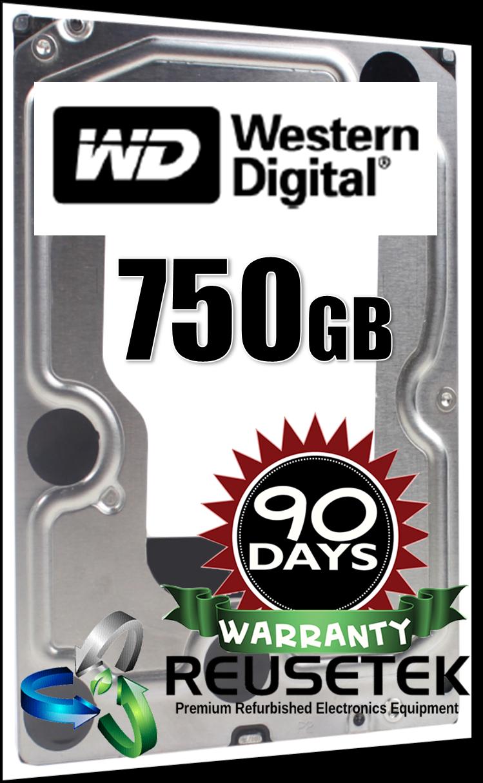 """50002137-Western Digital WD7502ABYS-02A6B0 750GB 7200RPM 3.5"""" Sata Hard Drive-image"""