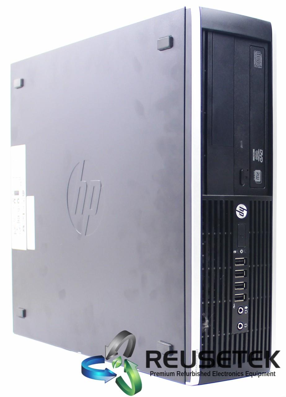 HP-COM-8300-SFF-i5-HP Compaq Elite 8300 SFF Intel i5 8 GB RAM 500 GB HDD Windows 10 Pro-image