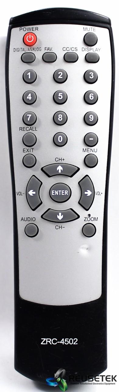 500031769607076 B10-Zinwell ZRC-4502 TV Remote Control-image
