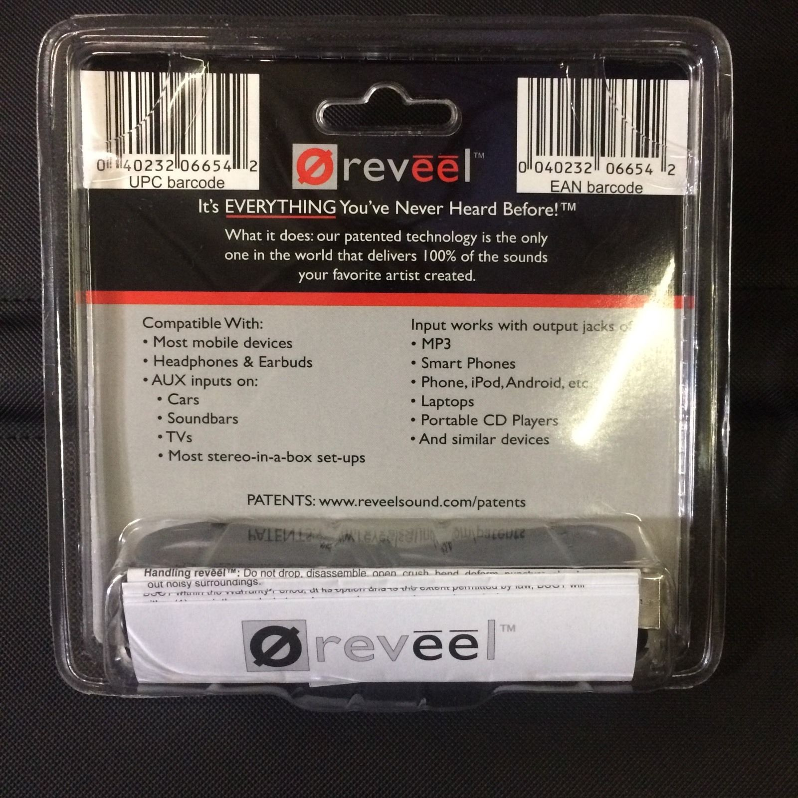101641-BSG Technologies REVEEL BSGT R213 Portable Headphone Amplifier - Brand New-image