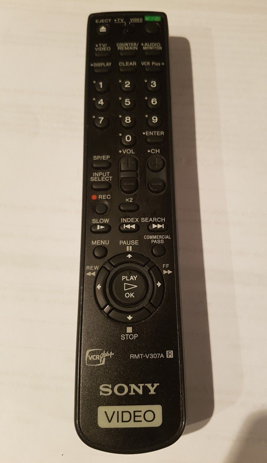 00-45-Used Authentic Sony RMT-V203A Refurbished Remote Control OEM Tested Working-image