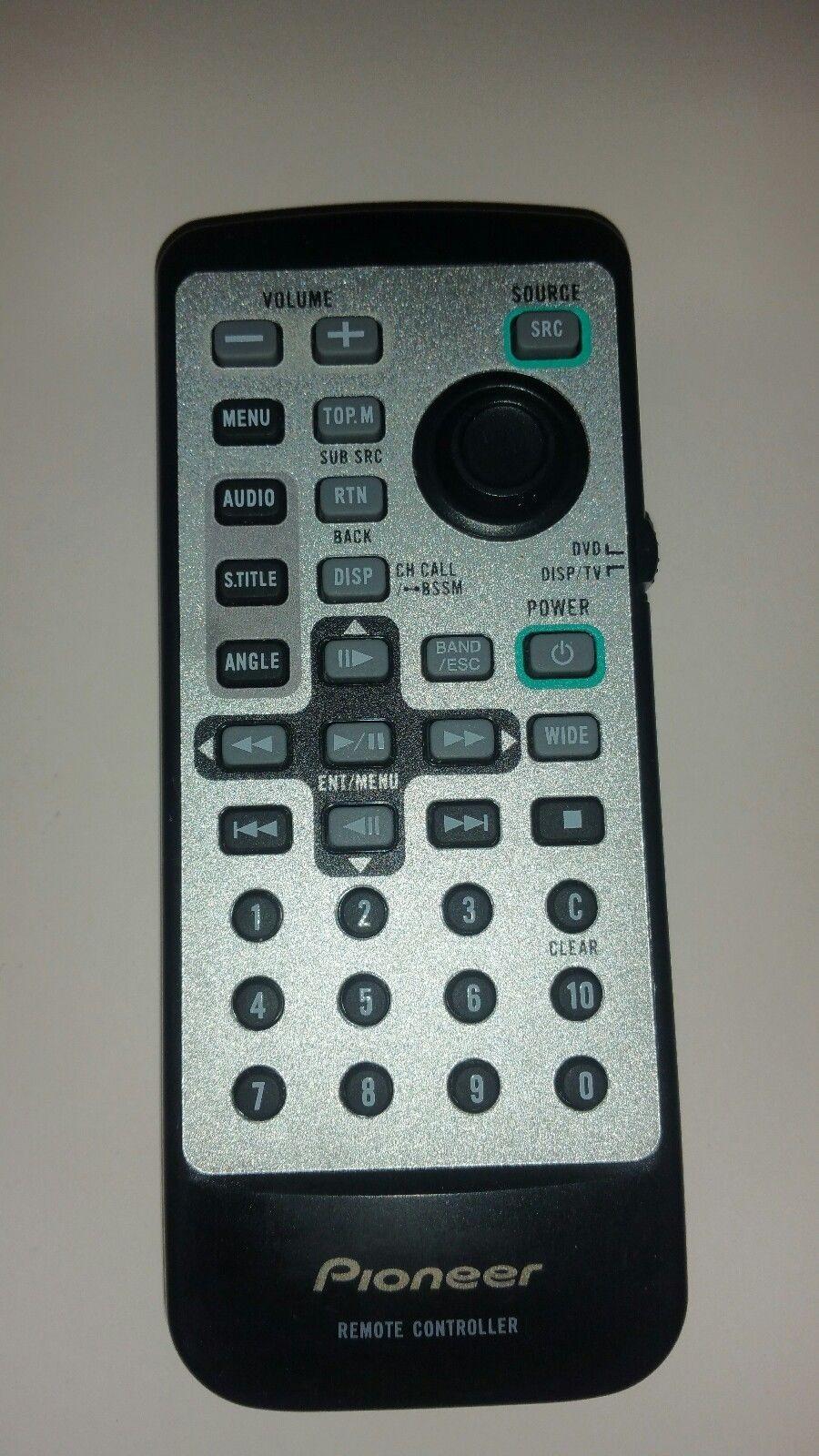 0 0-81-Original Used Authentic Refurbished OEM  Remote Control Genuine PIONEER CXB9056-image