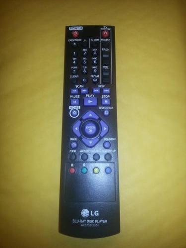 00-105-Used Authentic LG AKB73215304 Refurbished Remote Control OEM -image