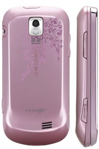 50003176586-Sprint Samsung Intercept SPH-M910 Android Cell Phone Pink-image