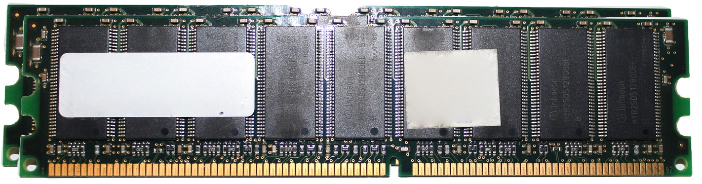 500031768786-T13-Wintec 35755681 2GB (2 x 1GB) PC-3200 DDR-400MHz ECC Registered CL3 184-Pin DIMM Server Memory Ram-image