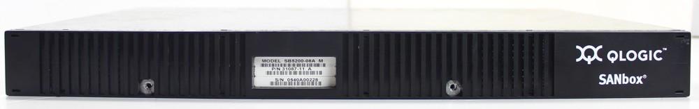 50000867-Qlogic Sanbox 5200-08A 8 Port 2GBPS Fibre Channel Switch (16 Port License) -image