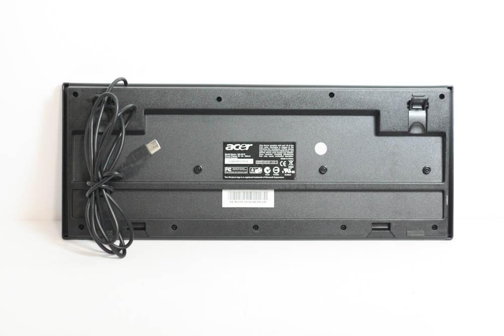 1000404-Acer SK-9610 Black/ Silver Keyboard -image