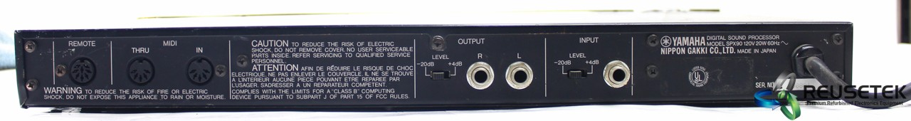 5000317467-Yamaha SPX90 Multi Effects Processor (For Parts or Repair)-image