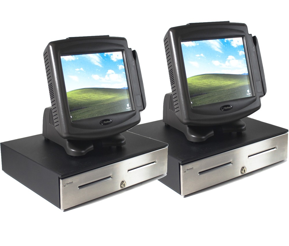 10000896-Radiant Systems P1220 Convenience Store Two-Bundle Point of Sale Set-image