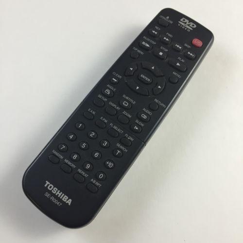 SE-R0047-Toshiba SE-R0047 Refurbished Remote Control for VCR/ DVD/TV-image