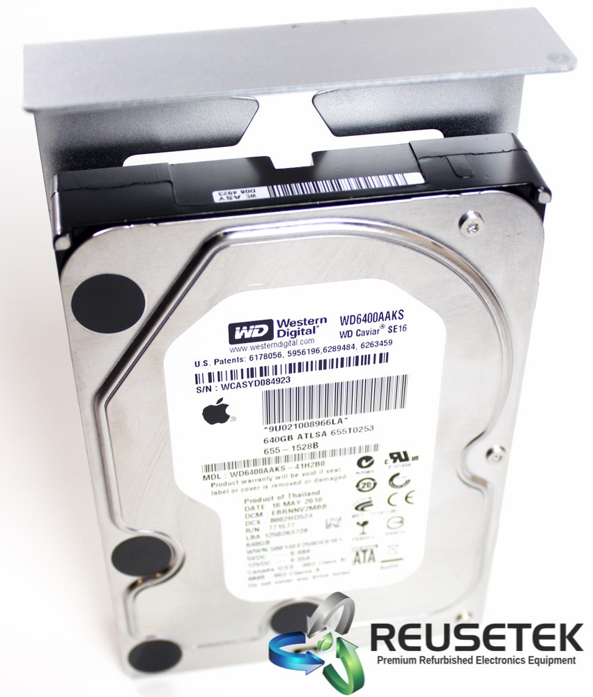 "50001552-Western Digital WS6400AAKS-41H2B0 640GB 3.5"" Apple Mac Pro Hard Drive With Caddy-image"