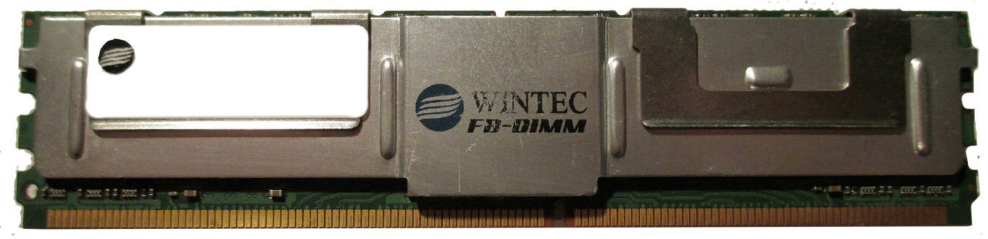 5000317696079130-T11-Wintec 39956384Q 4GB PC2-6400 DDR2-800MHz ECC Fully Buffered Server Memory Ram-image