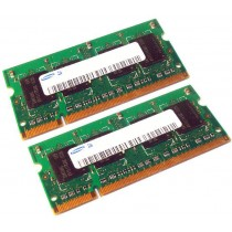 Samsung M471B5673EH1-CF8 4GB (2GBx2) PC3-8500 DDR3-1066MHz non-ECC Unbuffered CL7 204-Pin SoDimm Laptop Memory Ram