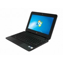 HP Mini 110 Refurbished Notebook 320 GB HDD 1 GB RAM 10.1-inch Atom N2600 Windows 7 Pro OS