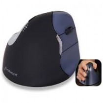 Evoluent Vertical Mouse 2 Optical Right Handed 5 Programmable Buttons