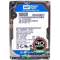 "Western Digital WD5000BEVT-16ZAT0 DCM: HHCVJHBB 500GB 2.5"" Laptop Sata Hard Drive"
