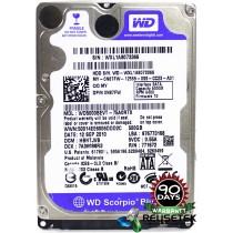 "Western Digital WD5000BEVT-75A0RT0 DCM: HBNTJVB 500GB 2.5"" Laptop Sata Hard Drive"