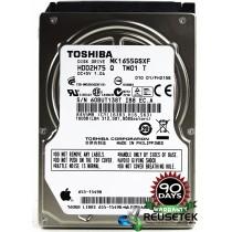"Toshiba MK6555GSXF RPM: 5400 160GB 2.5"" Sata Hard Drive"