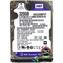 """Western Digital WD3200BPVT-60JJ5T0 DCM: HHMTJAK 320GB 2.5"""" Laptop Sata Hard Drive"""