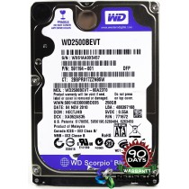 "Western Digital WD2500BEVT-60A23T0 DCM: HECTJHB 250GB 2.5"" Laptop Sata Hard Drive"