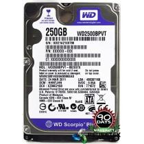 "Western Digital WD2500BPVT-80ZEST0 DCM: HHMTJHN 250GB 2.5"" Laptop Sata Hard Drive"