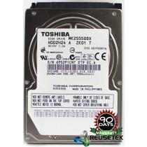 "Toshiba MK2555GSX RPM: 5400 250GB 2.5"" Sata Hard Drive"