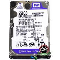 """Western Digital WD2500BEVT-22A23T0 DCM: HEBTJHBB 250GB 2.5"""" Laptop Sata Hard Drive"""