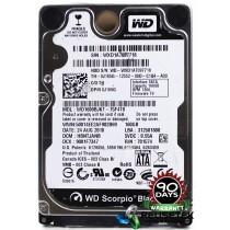 """Western Digital WD1600BJKT-75F4T0 DCM: HBNTJANB 160GB 2.5"""" Laptop Sata Hard Drive"""