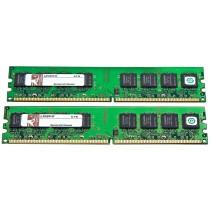 Kingston KPN424-ELJ 2Rx8 2GB (2x1GB) PC2-5300U DDR2-667MHz Non-ECC Desktop Memory Ram